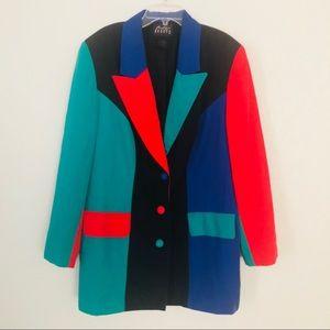 Vintage blazer multi 80's/90's Boutique Europa L